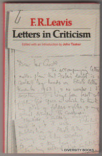 LETTERS IN CRITICISM