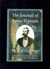 The Journal of Amos Hannah