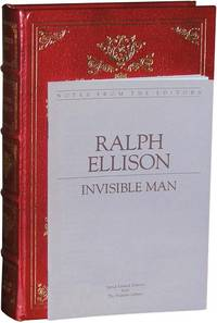 Invisible Man by  Ralph Ellison - Hardcover - Limited - 1980 - from Parrish Books (SKU: 2348)