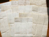 "Historically Significant Collection of Letters written by a Mormon convert detailing life in Nauvoo, Illinois, the construction of the Mormon Temple, the period leading up to the murders of Joseph and Hyrum Smith, as well as the aftermath. The letters describe ""Winter Quarters"" in Nebraska, 1846-1848, the journey to Salt Lake City in 1848, and the early days and establishment of the Mormon settlement there, the erection of the Temple, Indian hostilities, the Hand-cart Pioneers, and the Mormon War of 1857-1858. The letters date 1842 – 1859."