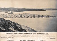 Chippewa Falls Union Lumbering Co's mammoth raft
