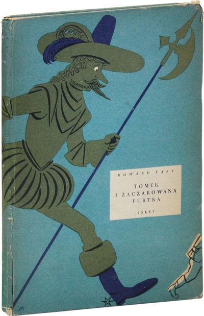 Warszawa: Iskry, 1956. First Polish Edition. Slim octavo (25cm.); publisher's blue pictorial paper-c...
