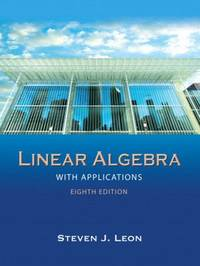 image of Linear Algebra with Applications