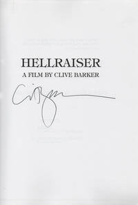 Hellraiser A Film By Clive Barker