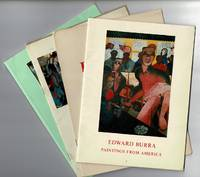 An series of four exhibition catalogues of works by Edward Burra (1905-1976)