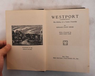 New York: Writers Publishing Co, 1926. Hardcover. VG- (hinges are loose internally, light age toning...