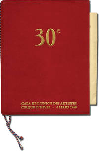 image of 30th Gala of the Union of Artists [XXXe Gala de l'Union des Artistes] (Original French program for the 1960 ceremony)