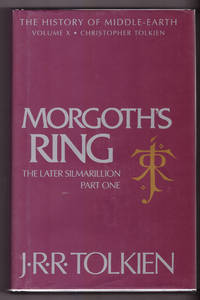 Morgoth's Ring [The History of Middle-Earth, Vol. X] by J.R.R. Tolkien; Christopher Tolkien - Hardcover - 3rd Printing - 1993 - from Uncommon Works, IOBA and Biblio.com
