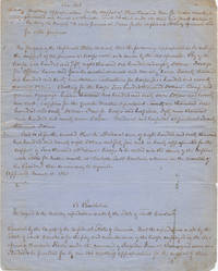 [Manuscript Copy] Three Confederate States Acts and Resolves concerning Provisional Forces and military expenditures in Charleston
