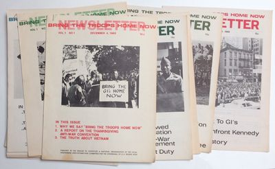 Cambridge, MA: The Newsletter, 1965. Fifteen issues of this newsletter, mostly 8.5x11 inches, three ...