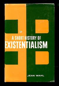image of A Short History of Existentialism