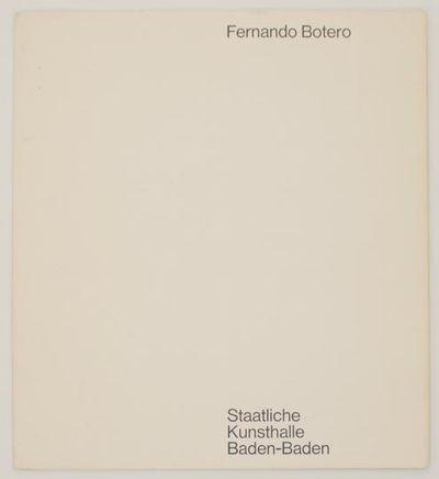 Baden-Baden, Germany: Staatlichen Kunsthalle Baden-Baden, 1966. First edition. Softcover. Exhibition...