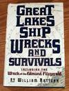 image of Great Lakes Shipwrecks and Survivals.