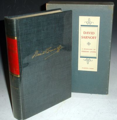 New York; (1966): Harper & Row, Publ. First Edition. Octavo. 372p. index. How a poor Russian immigra...