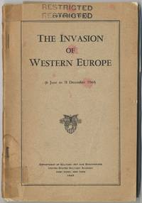 (Cover title): The Invasion of Western Europe 6 June to 31 December 1941