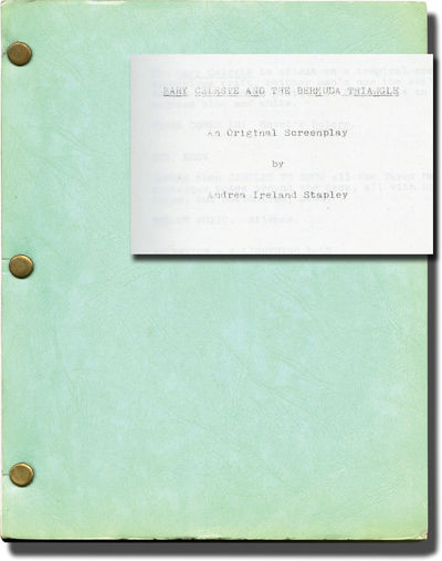 N.p.: N.p., 1976. Draft script for an unproduced film. Laid in autograph letter signed by Andrea Ire...
