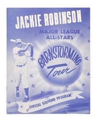 image of Jackie Robinson Major League All - Stars Barnstorming Tour; Official Souvenir Program