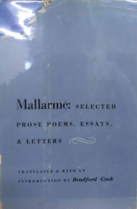 Mallarme:  Selected Prose Poems, Essays and Letters