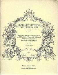 image of Clarinet Viruosi Concert Duets Volume II