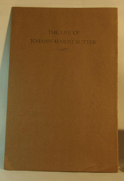 San Francisco: The Grabhorn Press, 1933. First Edition. First printing Near fine in heavy light brow...