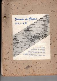 1950s era Handmade Notebook/Journal, 'Friends in Japan', relating to the activites of Quakers in Japan