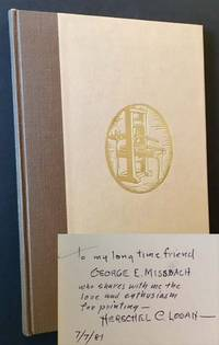 The American Hand Press: Its Origin, Development and Use