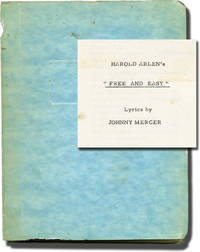 image of Free and Easy (Original play script for the 1959 musical, copy belonging to producer Stanley Chase)