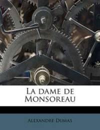 image of La dame de Monsoreau (French Edition)