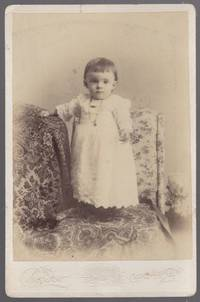 (Cabinet card photo): Toddler in Cape May, New Jersey