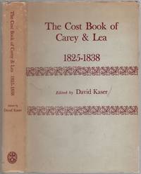 image of The Cost Book of Carey_Lea 1825-1838