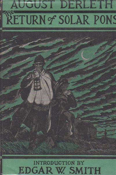Sauk City, Wisconsin: Mycroft & Moran, 1958. First Edition . Hardcover. 8vo., 261 pp., VG/VG; black ...
