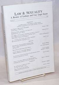 Law & Sexuality: a review of lesbian and gay legal issues, volume 2, 1992; Symposium: Legal restrictions on homophobic and racist speech