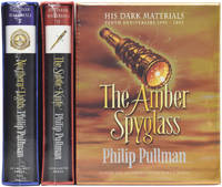 image of His Dark Materials [Tenth Anniversary SIGNED set]. Northern Lights [Golden Compass]. The Subtle Knife. The Amber Spyglass