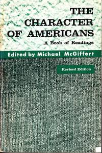 image of The Character of Americans A Book of Readings