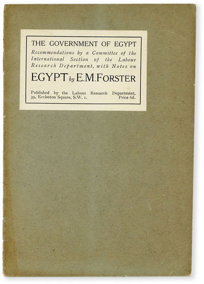 London: Labor Research Department, 1920. First Edition. Paperback. (Kirkpatrick, A7). First Impressi...