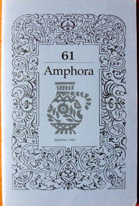 Type Design & Jan Krimpen: A Compositor's View. Essay in Amphora 61. September 1985
