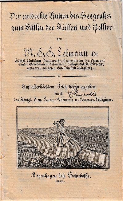 Copenhagen: köngl. Gen. Landes Oekonomie- und Commerz-collegium , 1814. First Edition. Original yel...