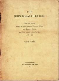 The John Bogart Letters
