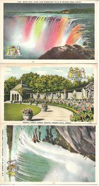 image of Niagara Falls - Collection/Lot of 7 UNUSED White Bordered Postcards - Circa 1940s