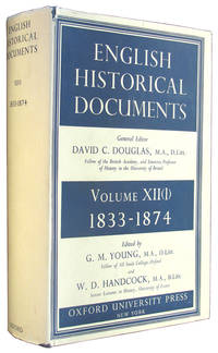 English Historical Documents, 1833-1874, Volume XII (1).