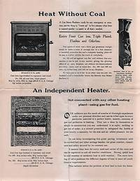 TRADE LITERATURE RE MANTELS, FIRE SETS, COAL GRATES, ODORLESS GAS GRATES, &C. MANUFACTURED AND SOLD BY DAWSON BROS