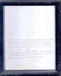 """AUTOGRAPH LETTER SIGNED (ALS): """"one regrets one's youth more sharply in England than in France"""""""