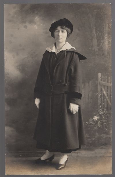 Cape May: Smith Studio, 1915. Unbound. Near Fine. Gelatin silver image on post card back. Approximat...