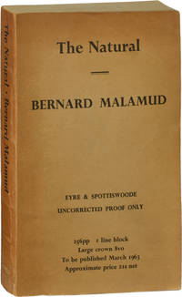 image of The Natural (Uncorrected Proof of the First UK Edition)