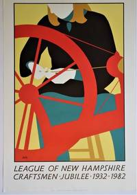 League of New Hampshire Craftsmen Jubilee 1932 - 1982: Poster