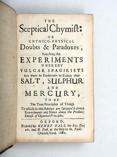 The Sceptical Chymist: