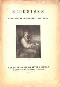 Catalogue no nr./1933 : Bildnisse. Verglas und Verlagsrest - Bestande