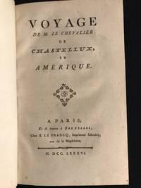 image of Voyage de M. Le Chevalier de Chastellux en Amérique