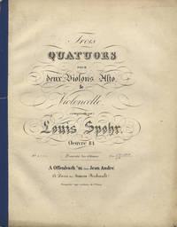 [Op. 84]. Trois Quatuors pour deux Violons, Alto & Violoncelle... Oeuvre 84. Prix f 10,, 48 Xr./ [Reichsthaler] 6. [Parts]
