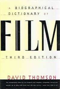 A Biographical Dictionary of Film